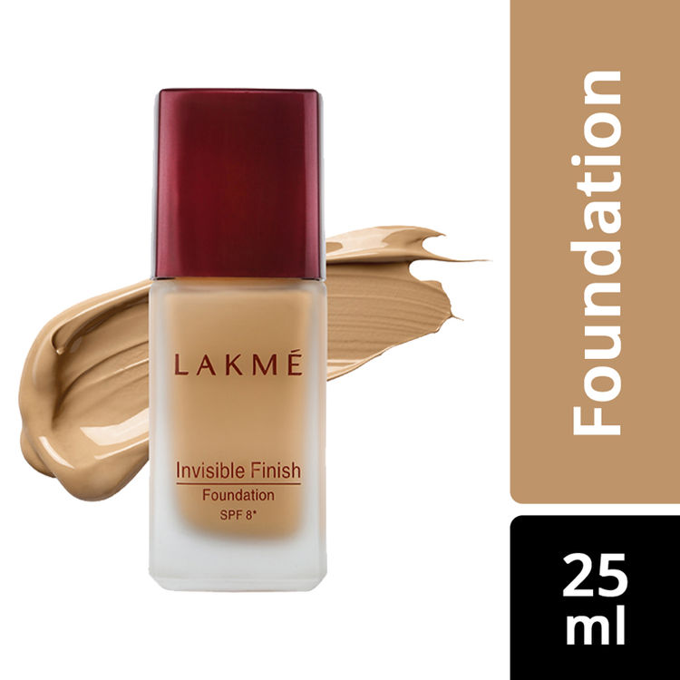 Buy Lakme Invisible Finish SPF 8 Foundation - Shade 02 (25 ml)-Purplle
