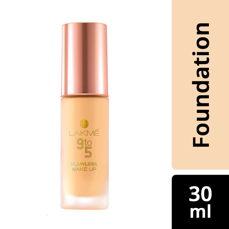 Buy Lakme 9 To 5 Flawless Makeup Foundation - Marble (30 ml)-Purplle