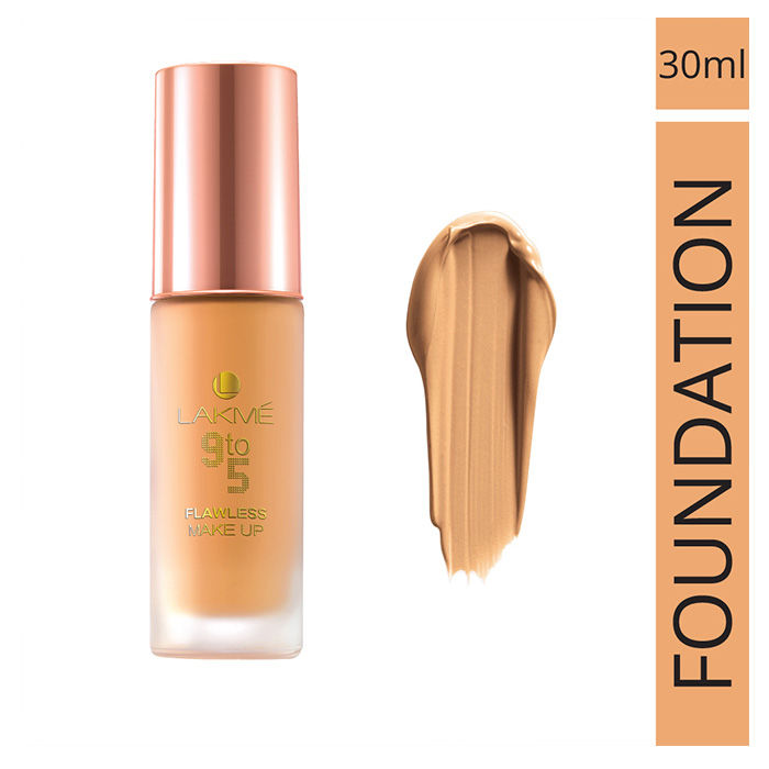 Buy Lakme 9 to 5 Flawless Makeup Foundation Shell (30 ml)-Purplle