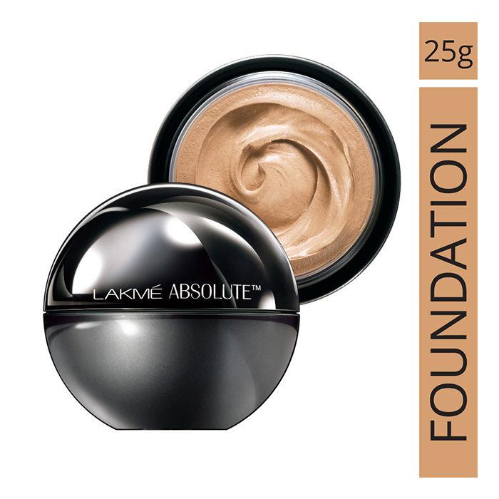 Buy Lakme Absolute Skin Natural Mousse Golden Medium 03 (25 g)-Purplle