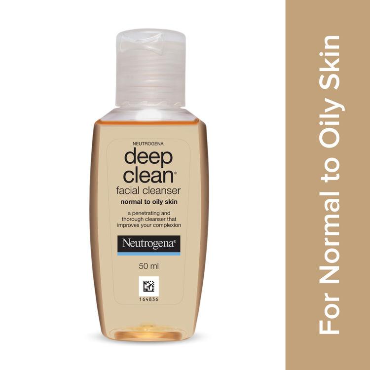 Buy Neutrogena Deep Clean Facial Cleanser (50 ml)-Purplle