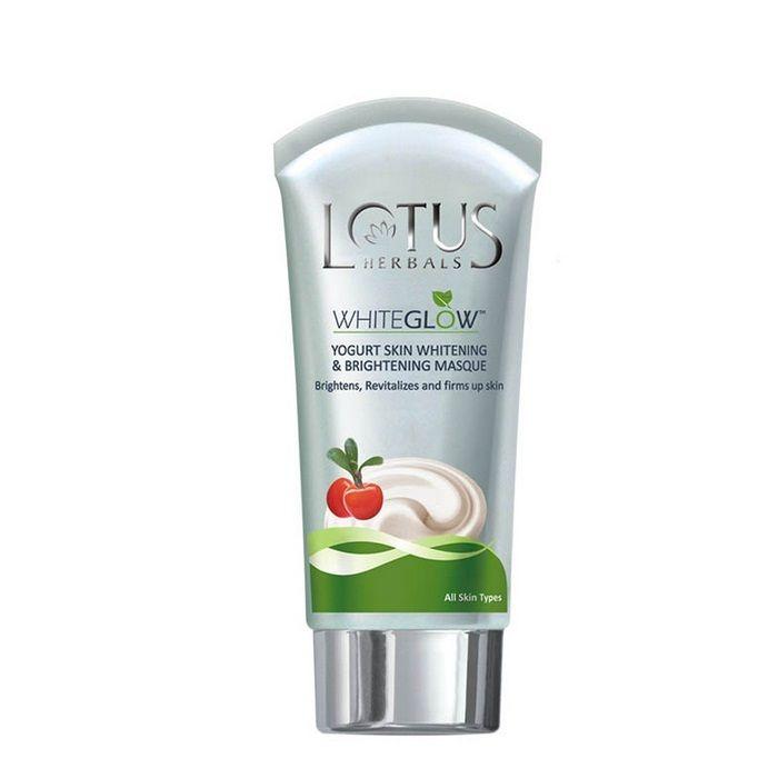 Buy Lotus Herbals White Glow Yogurt Skin Whitening and Brightening Masque (80 g)-Purplle