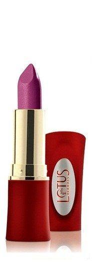 Buy Lotus Herbals Moistpetals Ultra Moisturising Lipstick Royal Plum 116 (4.2 g)-Purplle