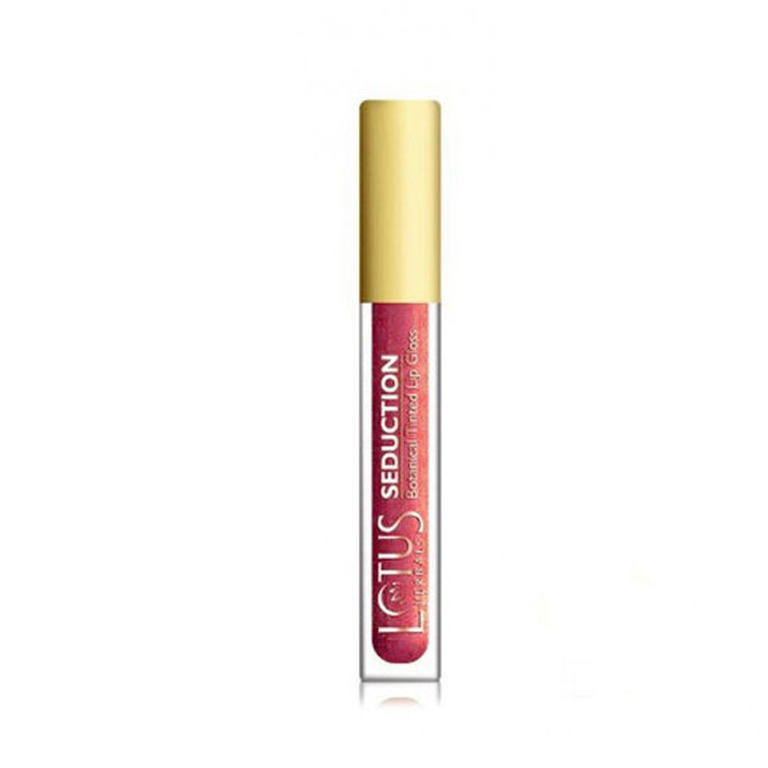 Buy Lotus Herbals Seduction Lip Gloss Strawberry Punch 41 (4 g)-Purplle