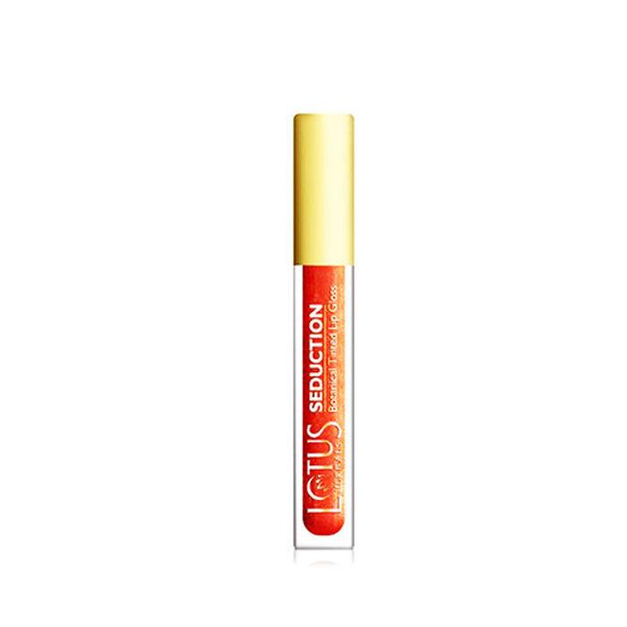 Buy Lotus Herbals Seduction Lip Gloss Winter Berry Crush 43 (4 g)-Purplle