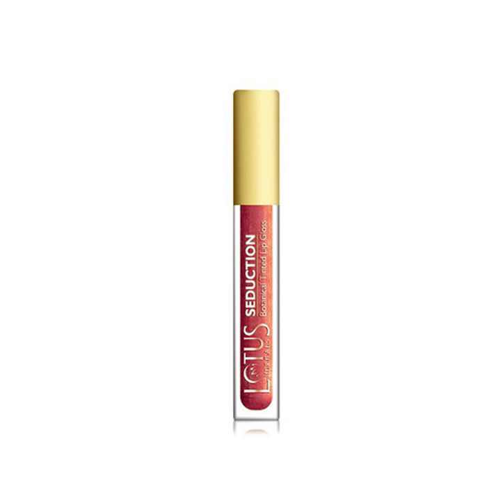 Buy Lotus Herbals Seduction Lip Gloss Lychee Squash 40 (4 g)-Purplle
