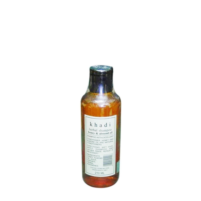 Khadi Herbal Shampoo With Honey and Almond Oil 210 ml
