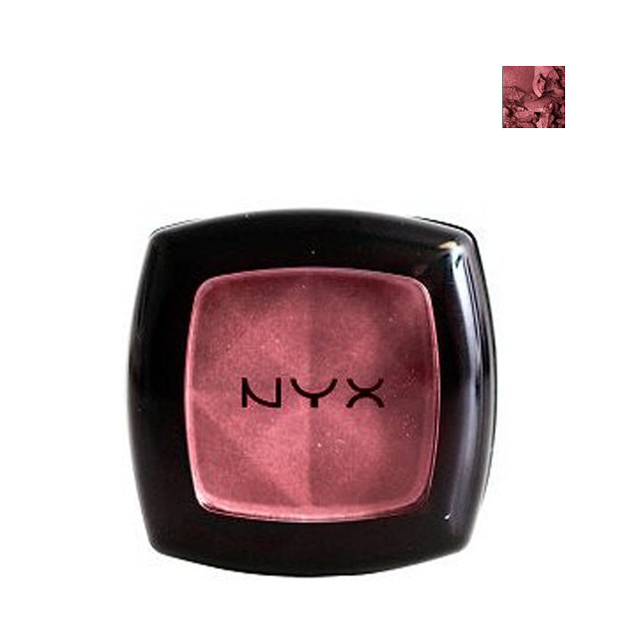 Buy NYX Single Eye Shadow-burgundyPearl-con.-Purplle