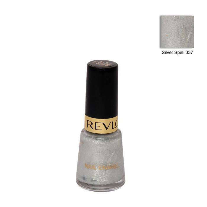Buy Revlon Silver Spell Super Smooth Nail Enamel No.337-Purplle