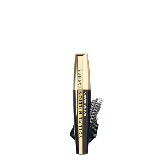 Buy L'Oreal Paris Volume Million Lashes Mascara Black 01 (9.2 ml)-Purplle