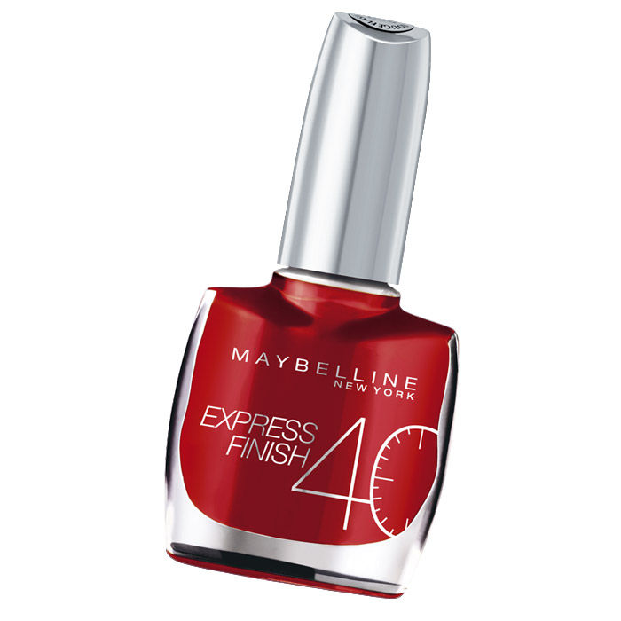 Buy Maybelline Express Finish Nail Color Cerise / Cherry (30) (10 ml)-Purplle