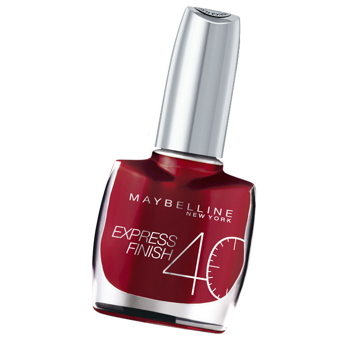 Buy Maybelline Express Finish Nail Color Rouge Flash / Red Flash (313)-Purplle