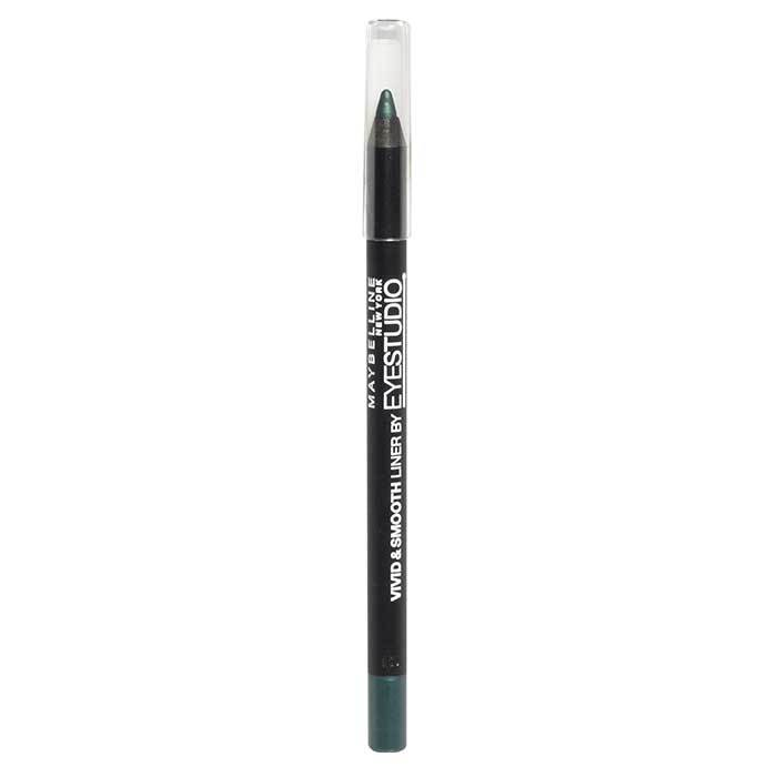 Buy Maybelline Vivid and Smooth Liner Forest Green (1.2 g)-Purplle
