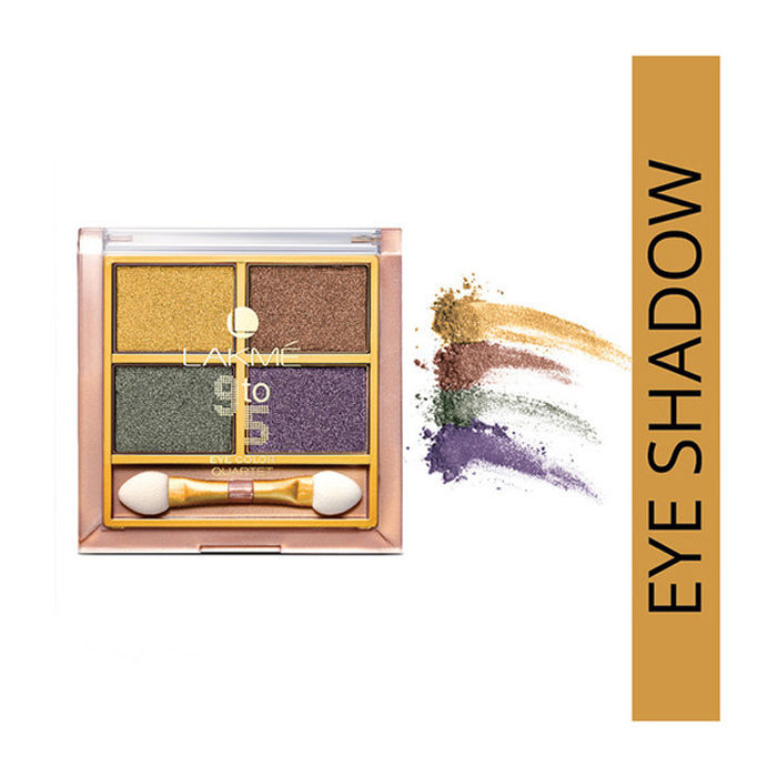 Buy Lakme 9 To 5 Eye Quartet Eyeshadow - Tanjore Rush (7 g)-Purplle