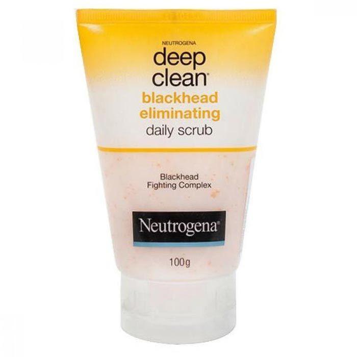 Buy Neutrogena Deep Clean Blackhead Eliminating Daily Scrub (100 g)-Purplle