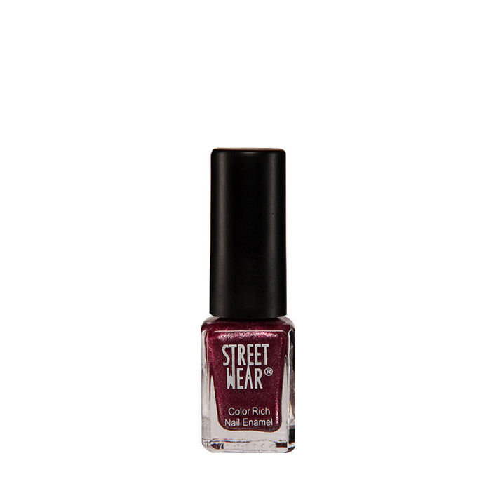Buy Street Wear Color Rich Nail Enamel Berry Spark 03 (5 ml)-Purplle