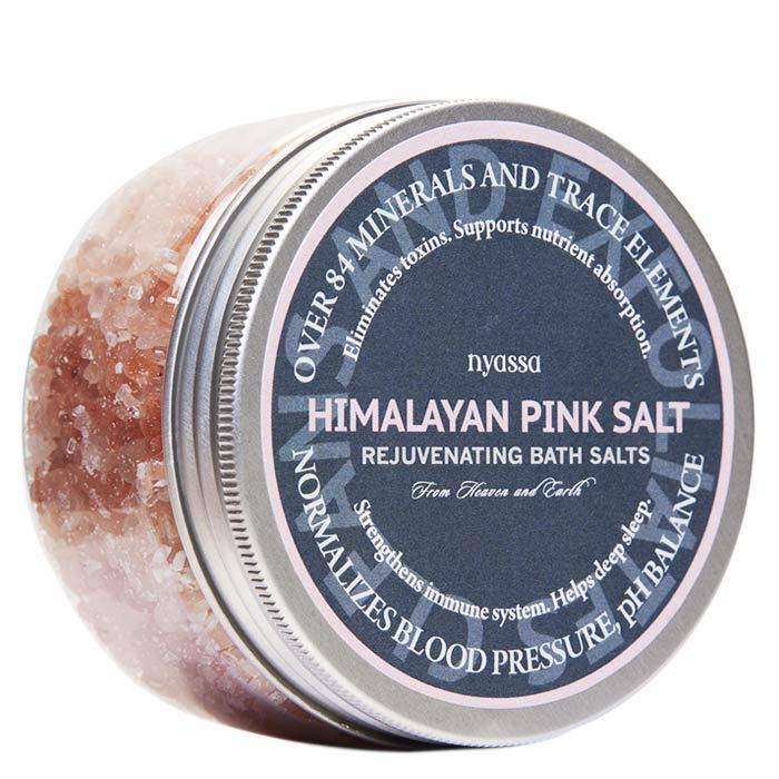 Buy Nyassa Himalayan Pink Bath Salt (220 g)-Purplle