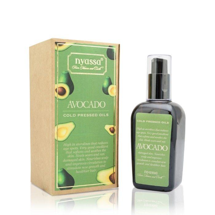 Buy Nyassa Cold Pressed Avocado Oil (100 ml)-Purplle