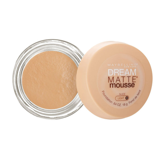 Buy Maybelline New York Dream Matte Mousse Foundation Nude Light 4 (18 g)-Purplle