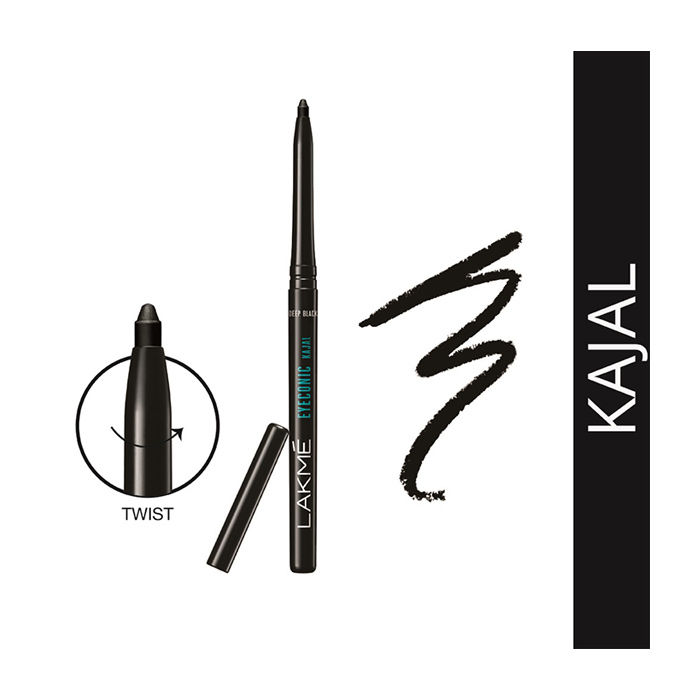 Buy Lakme Eyeconic Kajal Black-Purplle