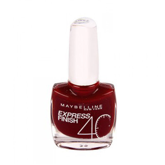 Buy Maybelline Express Finish Rouge Seduction Red Seduction Nail Polish 530 (10 ml)-Purplle
