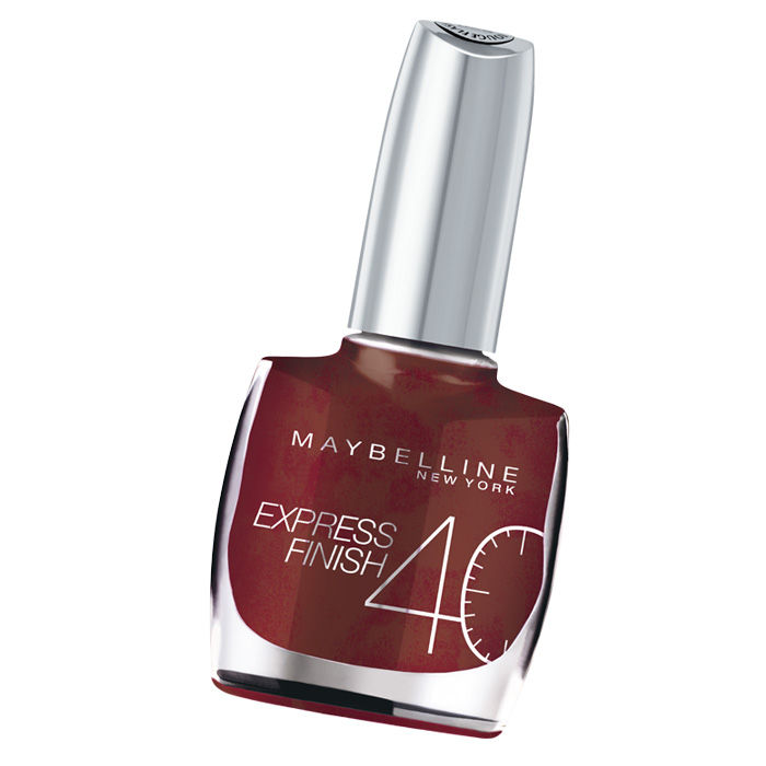 Buy Maybelline Express Finish Nail Color Marron Glace / Chocolate Frost (760)-Purplle