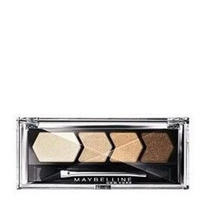 Buy Maybelline Diamond Glow Quad Eye Shadow Copper Brown (2.5 g)-Purplle
