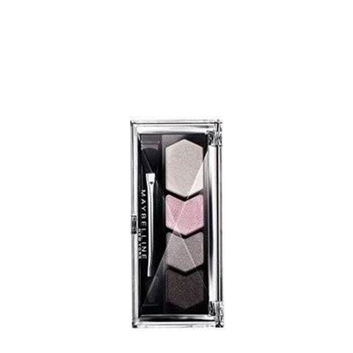 Buy Maybelline Diamond Glow Quad Eye Shadow Gray Pink (2.5 g)-Purplle