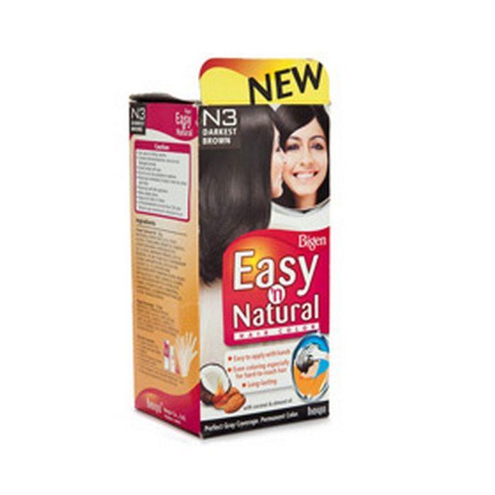 Buy Bigen Women Easy N Natural Hair Colour Dark Brown N3 20 G