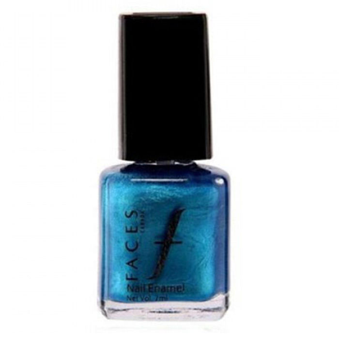 Buy Faces Canada Splash Nail Enamel Cerulean 07 (8 ml)-Purplle
