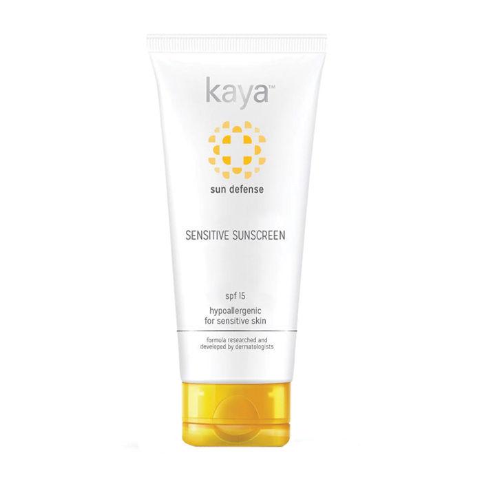 Buy Kaya Sunscreen for Sensitive Skin SPF 15 (75 ml)-Purplle