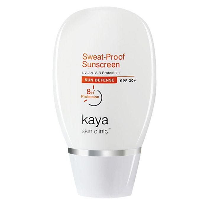 Buy Kaya Sweat-Proof Sunscreen SPF-30+ (60 ml)-Purplle