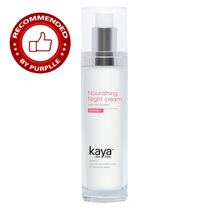 Buy Kaya Fairness Nourishing Night Cream (50 ml)-Purplle