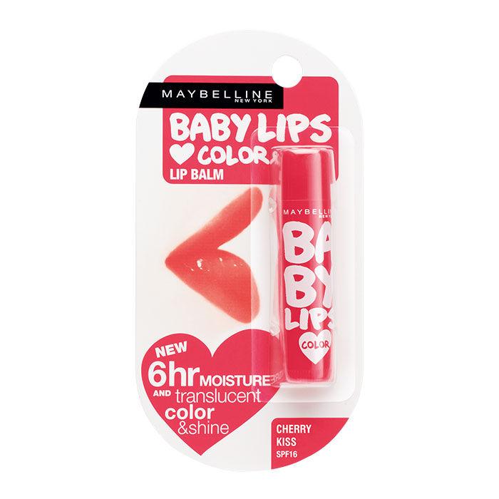 Buy Maybelline New York Baby Lips Cherry Kiss SPF 20 (4 g)-Purplle