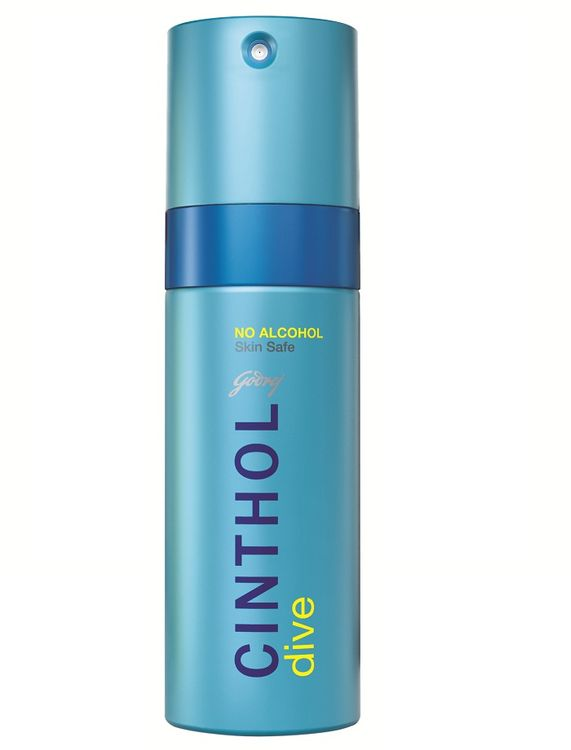 Buy Cinthol Dive Deo Spray (150 ml)-Purplle