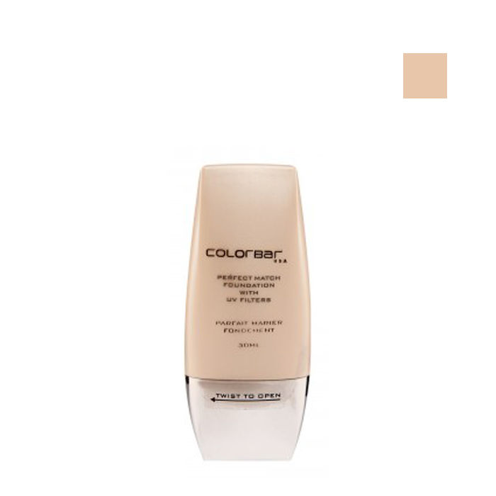 Buy Colorbar Perfect Match Foundation Nude Beige-Purplle