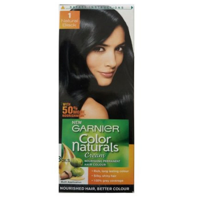 Garnier Color Naturals Hair Natural Black 1 40 G 60 Ml Find Offers S Reviews Ratings Features Usage Ings For