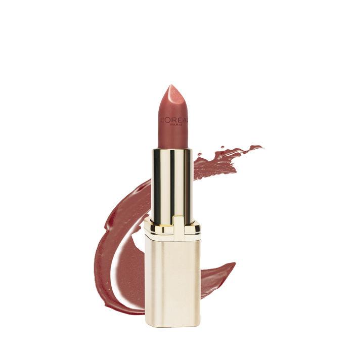Buy L'Oreal Paris Color Riche Matte Lipstick Silky Toffee 381-Purplle