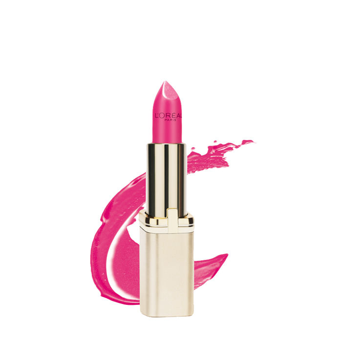 Buy L'Oreal Paris Color Riche Matte Lipstick Crazy Fuschia 370 (4.7 g)-Purplle