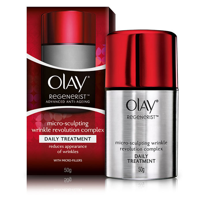Buy Olay Regenerist Advanced Anti-Aging Micro-Sculpting Wrinkle Revolution Complex Daily Treatment (50 g)-Purplle