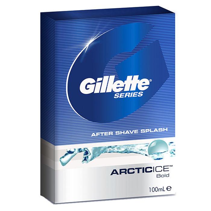 Buy Gillette After Shave Series Splash Arctic Ice (100 ml)-Purplle