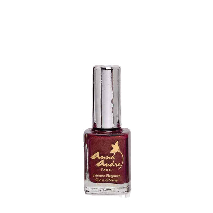 Buy Anna Andre - Extreme Elegance Gloss and Shine Nail Enamel 80040 Brown Pearl (9 ml)-Purplle