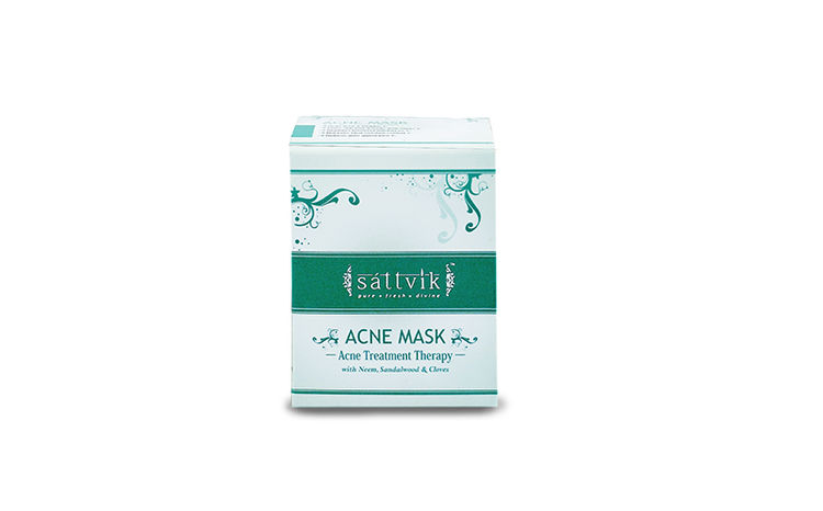 Buy Sattvik Organics Acne Mask (60 g)-Purplle