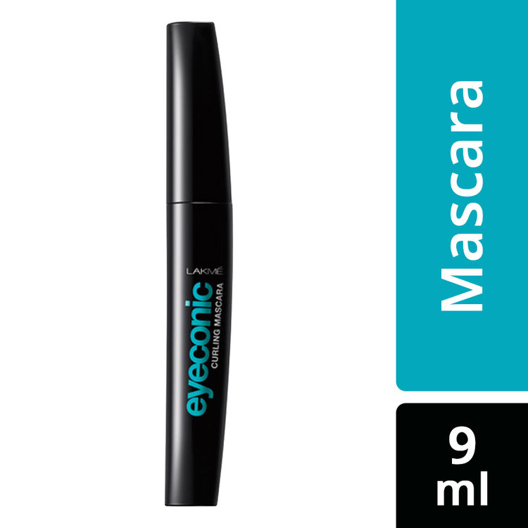 Buy Lakme Eyeconic Curling Mascara - Black (9 ml)-Purplle
