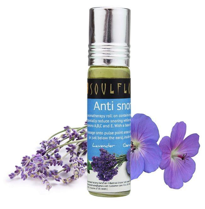 Buy Soulflower Aromatherapy Anti Snoring Roll On (8 ml)-Purplle