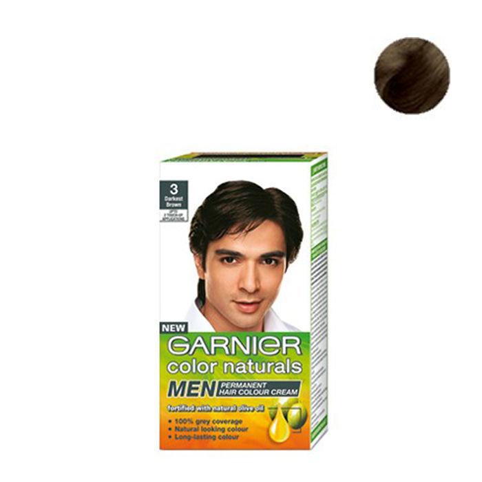 Buy Garnier Color Naturals Men Permanent Hair Colour Cream Dark