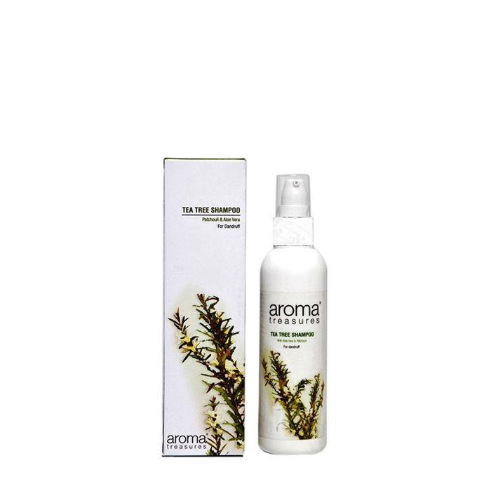 Buy Aroma Treasures Tea Tree Shampoo (100 ml)-Purplle