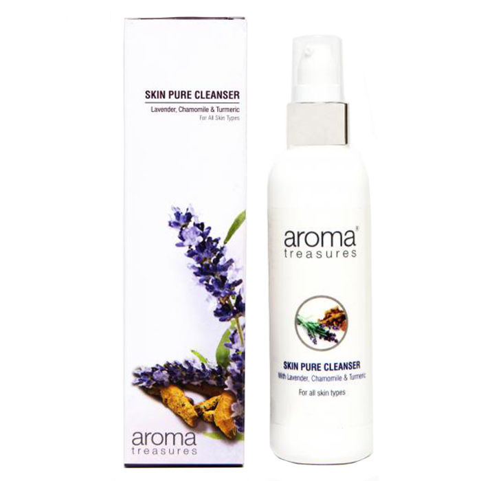 Buy Aroma Treasures Skin Pure Cleanser (100 ml)-Purplle
