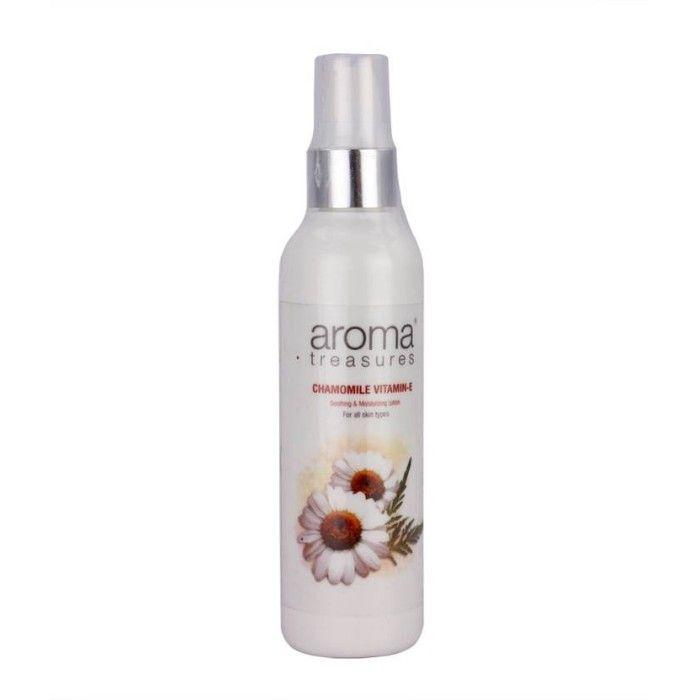 Buy Aroma Treasures Chamomile Vitamine-E- Soothing & Moisturizing Lotion (100 ml)-Purplle