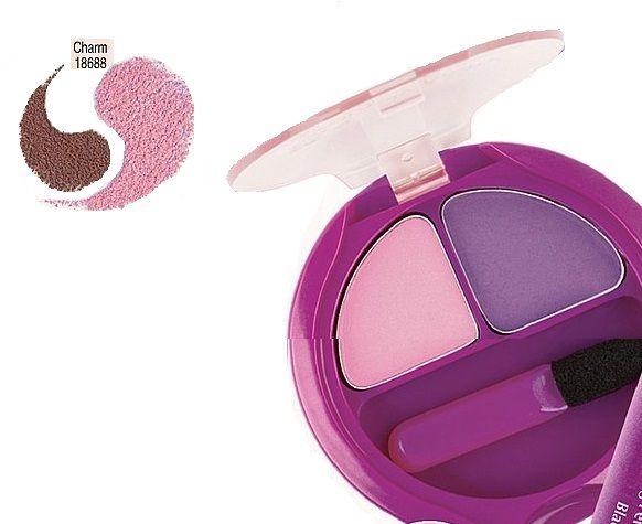 Buy Avon Simply Pretty Blendable Eyeshadow Duo Charm 18688-Purplle